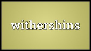 Withershins Meaning