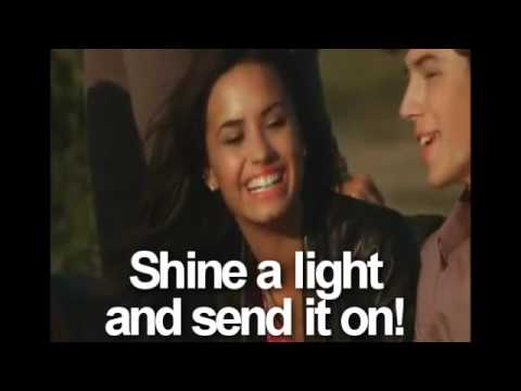 Send it On - Disney Channel Stars - OFFICIAL FULL MUSIC VIDEO + Lyrics on screen