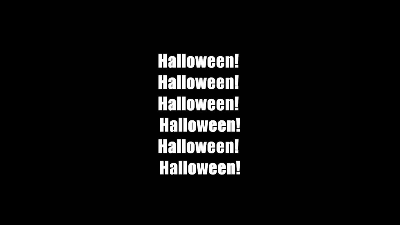 marilyn manson this is halloween w/ lyrics - youtube