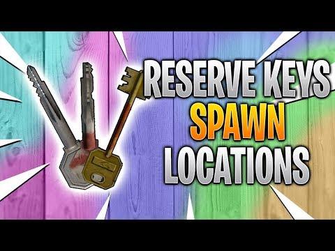 Reserve Key Spawn Locations - Escape From Tarkov