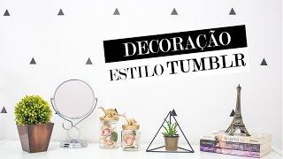 DIY Decoração estilo Tumblr – super fácil
