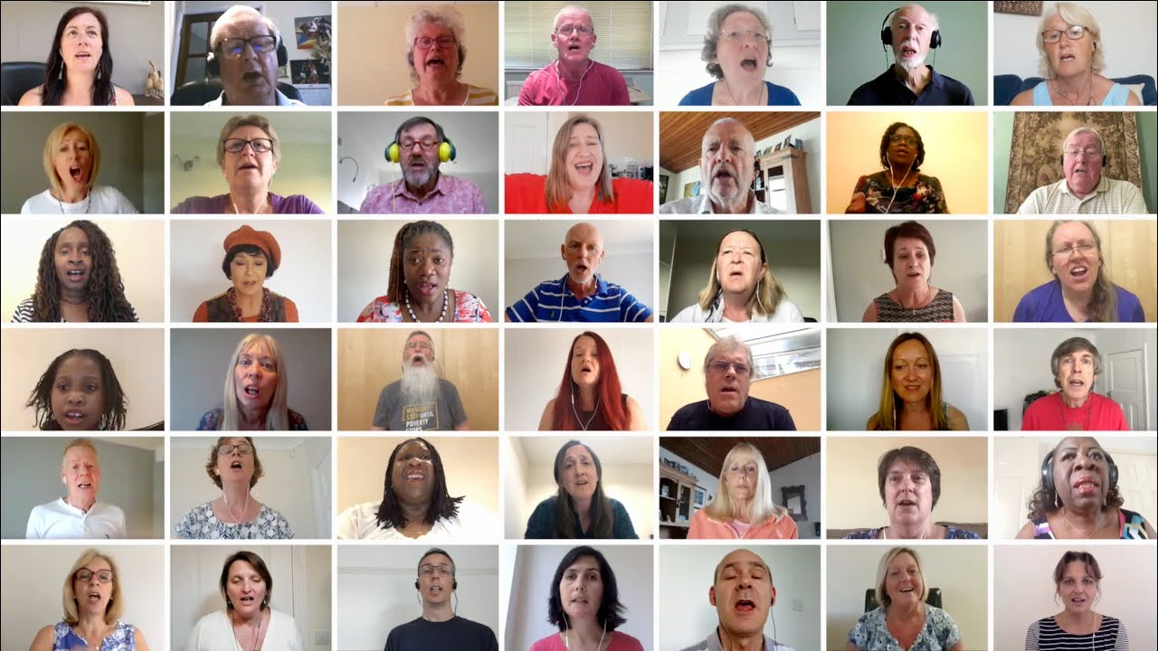 Exciting recording of 'Day of Trouble' by members of four choirs across the South!