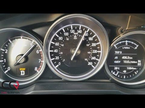 Mazda 6 Turbo : Acceleration Test 0-100kmh (0-60 mph) | 87 Octane fuel | Review part 2/2