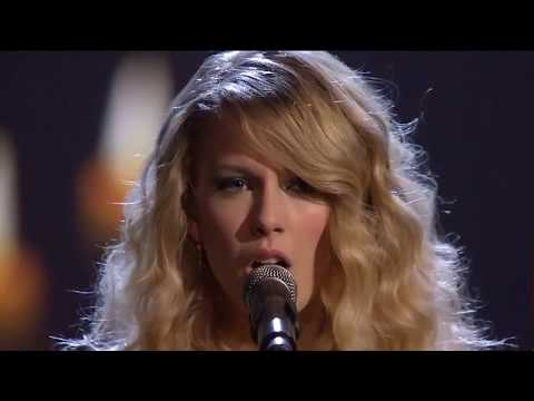 Taylor Swift White Horse American Music Awards 2008