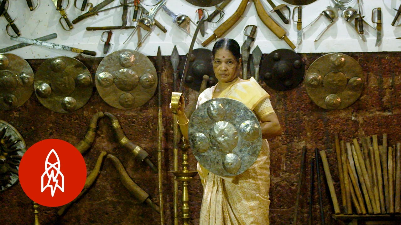 At 74, She Is the Oldest Practitioner of an Indian Martial Art