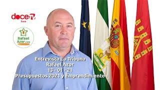 Rafael Azor en La Tribuna de 12 TV / 13 - 01 - 21 - Presupuestos 2021 y Emprendimiento