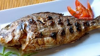 Ulam Pinoy #13 - GRILLED FISH (Inihaw na Isda)