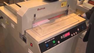 Резак для бумаги Bulros 480DFS