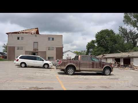 8-10-2020 Central Iowa Historic Derecho- Full storm intercept and aftermath