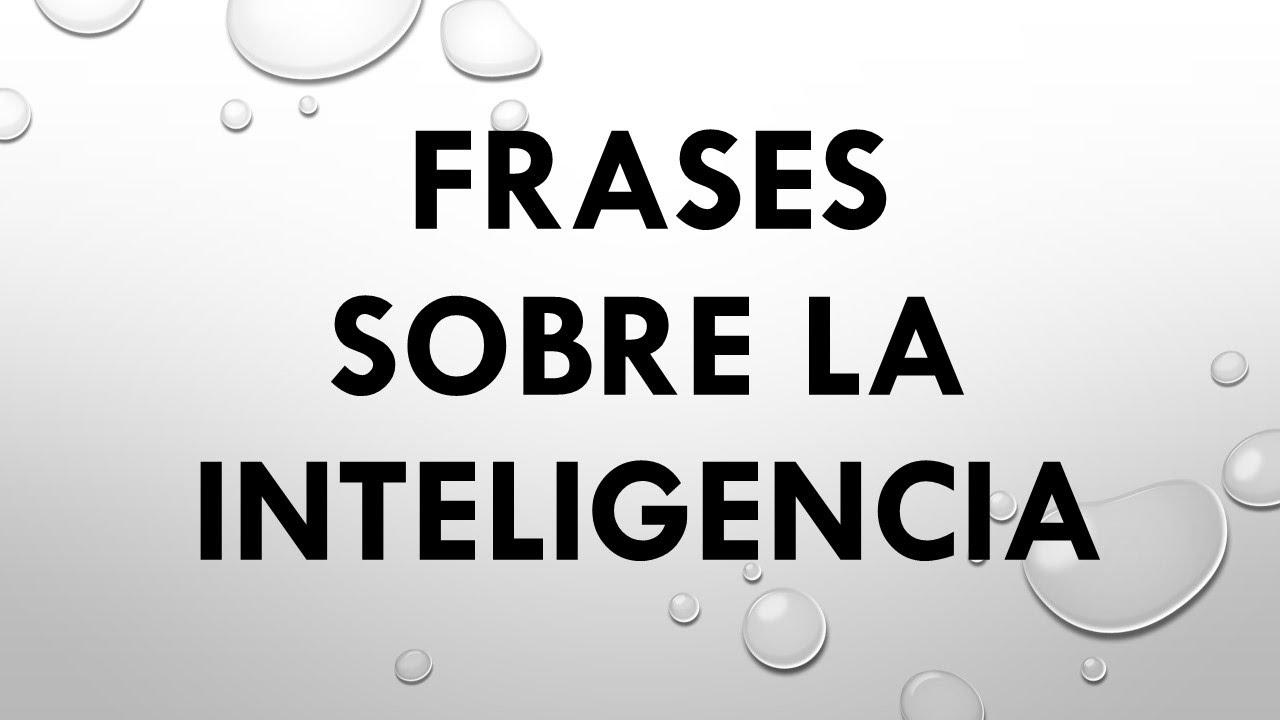 Las 10 Mejores Frases Sobre La Inteligencia Y La Sabiduría