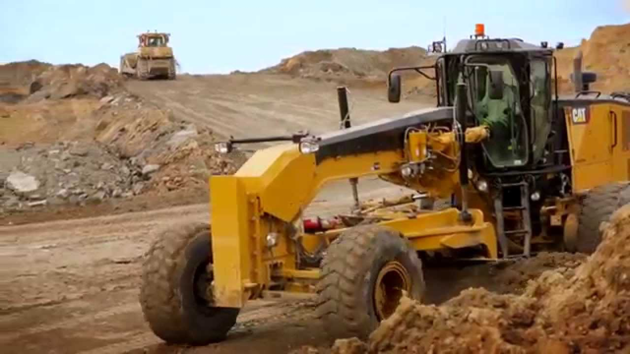 Cat Mining Motor Grader 16m3 Enhanced Performance And