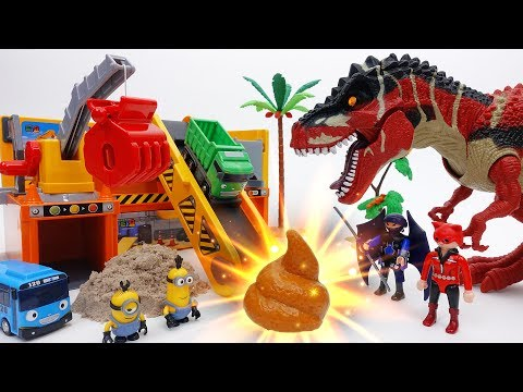 Thumbnail: Stolen Gold in Dinosaur Poop? Gold Mine of Minions & Tayo