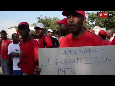 Afrikaans school is discriminating against black kids say the EFF