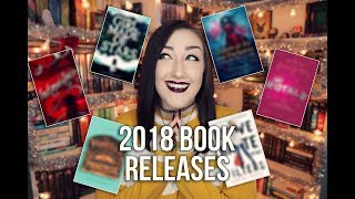 MOST ANTICIPATED BOOK RELEASES OF 2018.