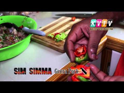 CUTTERS - GEERA PORK - SIM SIMMA Cookery show