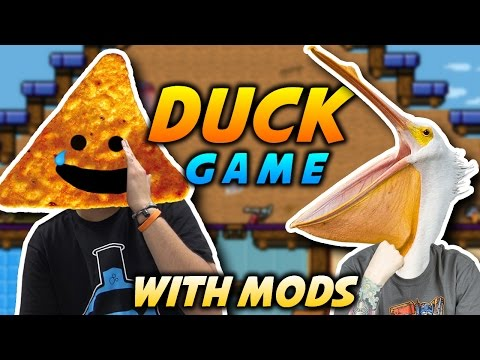 FACE OF THE FATHER  | Duck Game with Mods Gameplay