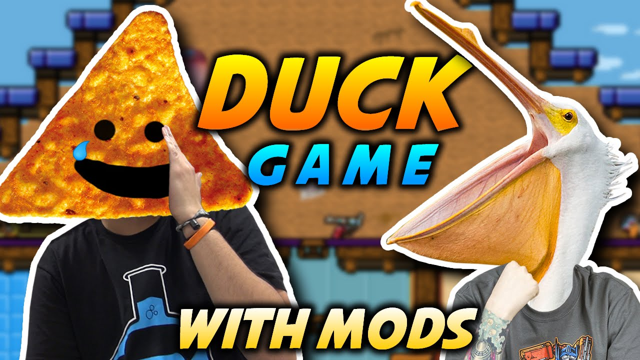 FACE OF THE FATHER | Duck Game with Mods Gameplay - YouTube