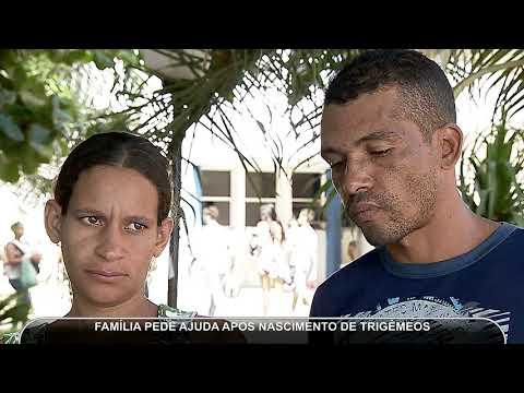 JMD (09/05/18) - Família Pede Ajuda Depois De Nascimento De Trigêmeos