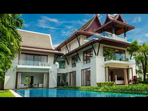 VILLA KALYANA - Phuket Luxury Villa w/ 5 Bedrooms - YouTube