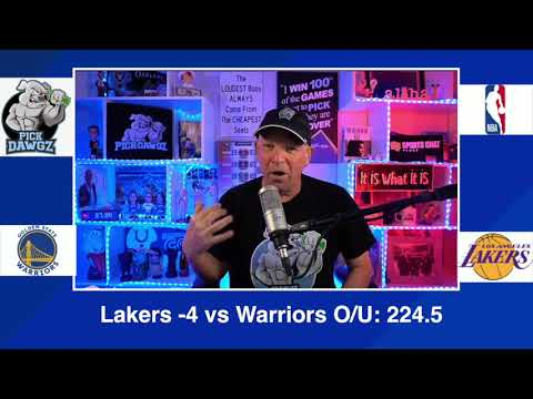 Los Angeles Lakers vs Golden State Warriors 2/28/21 Free NBA Pick and Prediction NBA Betting Tips
