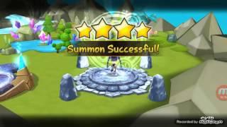 Summoners War - 106 LnD + 1 Legendary Scroll summons
