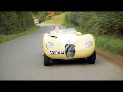Suffolk Sportscars 2018 film - SS100 and C-type