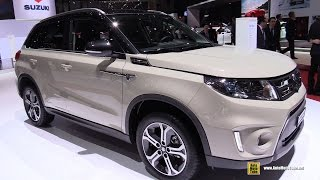 2015 Suzuki Vitara 1.6 Sergio Cellano Top - Exterior, Interior Walkaround - 2015 Geneva Motor Show