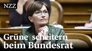 Bundesratswahl 2019: Grüne schaffen keine Sensation