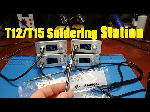 T12 OLED Soldering Station Review