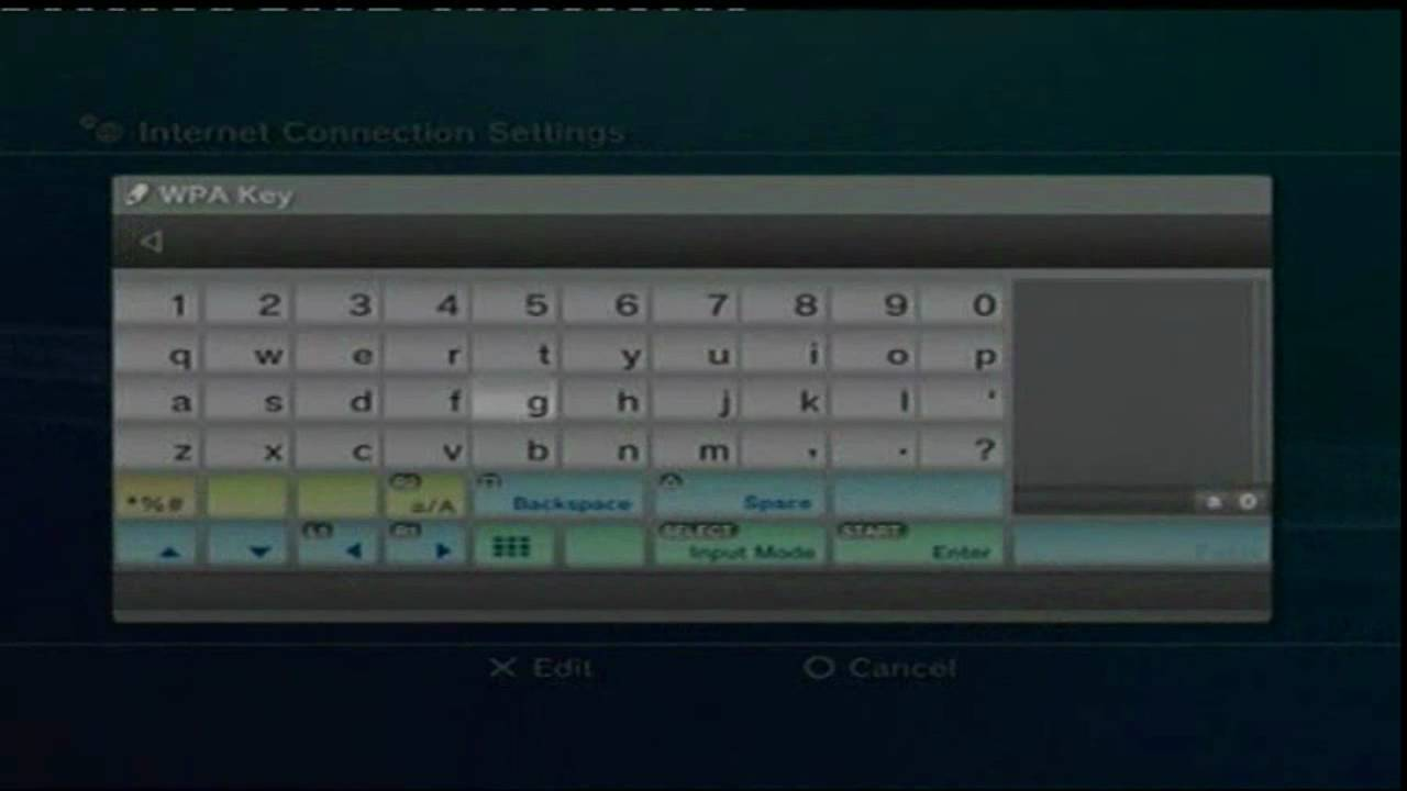 How to set up Internet on your PS3 (Wireless) - YouTube