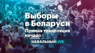 Выборы в Беларуси. Прямая трансляция. Начало