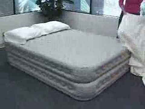 Intex air bed repair kit instructions youtube - Kit reparation matelas gonflable intex ...