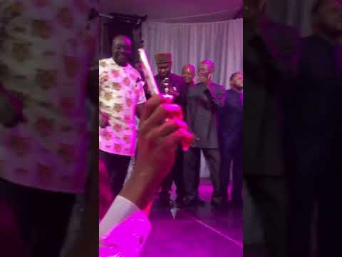 Rotimi Amaechi shows his dancing moves in Rivers state