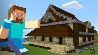МОЙ САМЫЙ ПЕРВЫЙ ДОМ в МАЙНКРАФТ ВЫЖИВАНИЕ!! (Minecraft #6)
