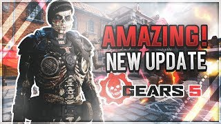 The NEW Gears 5 Update is AMAZING! (live commentary)