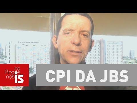 José Maria Trindade: CPI da JBS tenta investigar investigadores