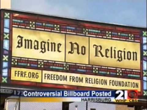 Atheist Billboard - Harrisburg, PA - Freedom From Religion Foundation (FFRF) - Local News