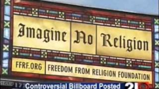 Atheist Billboard - Harrisburg, PA - Freedom From Religion Foundation (FFRF) - Local News