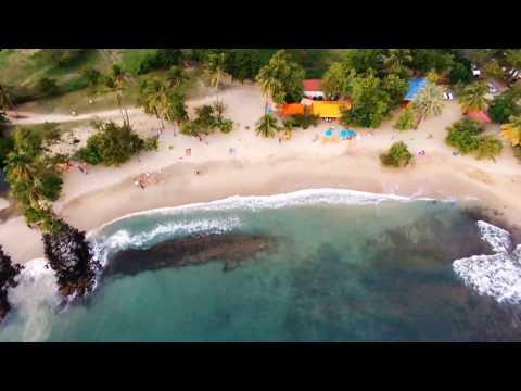 martinique vue du ciel [video 1] Sainte Luce en drone Bebop 2