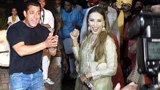 Iulia Vantur Dance Salman Khan Ganpati Visarjan