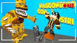 FUGA DAL VIDEO DI LYON!! (Gmod NASCONDINO con i MOSTRI)