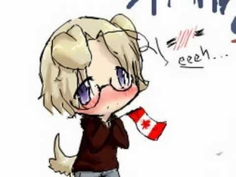 APH: Canada - Nano Desu - Lyrics