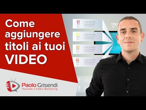 Come Aggiungere Testo ai Video