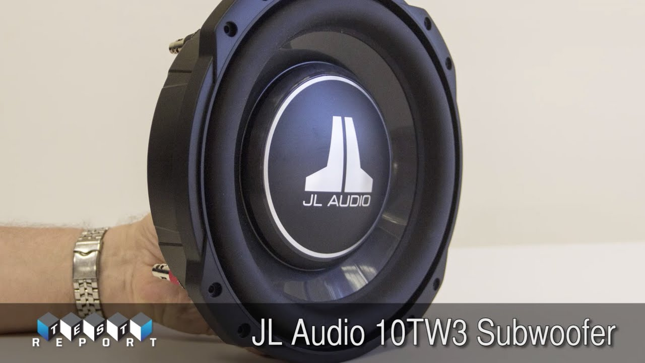 JL Audio 10TW3 Subwoofer - YouTube