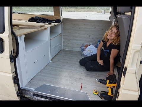 Part: 3. Our Self Build VW Stealth Camper Van Conversion Journey. Under 1000