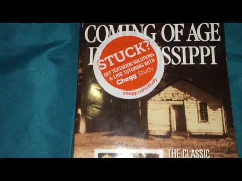 Coming Of Age in Mississppi Booktrailer