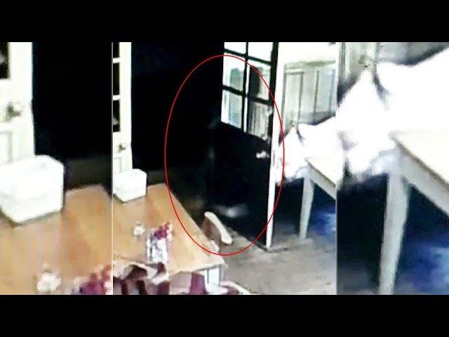 Cámara de seguridad muestra el fantasma de una niña persiguiendo a la camarera de un pub inglés