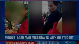Delhi University student molested on public transport, man masturbates in front of the victim