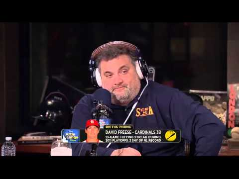 The Artie Lange Show - David Freese - On The Phone