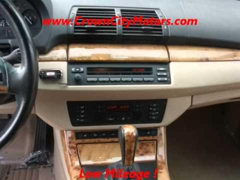 For Sale 2002 BMW X5 4.4i in Pasadena,CA www.CrownCityMotors.com